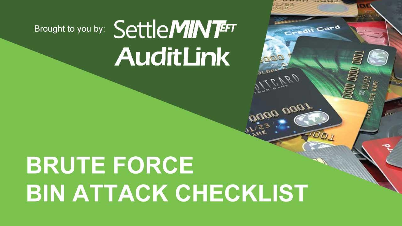 Brute Force BIN Attack Checklist